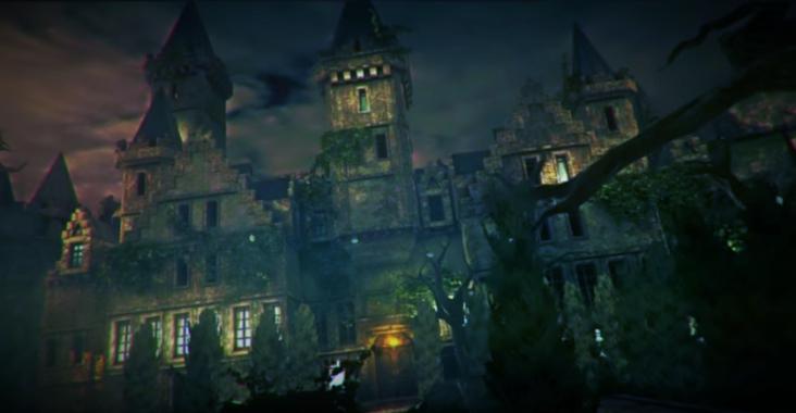 haunted mansion virtuele locatie virtual game terragame