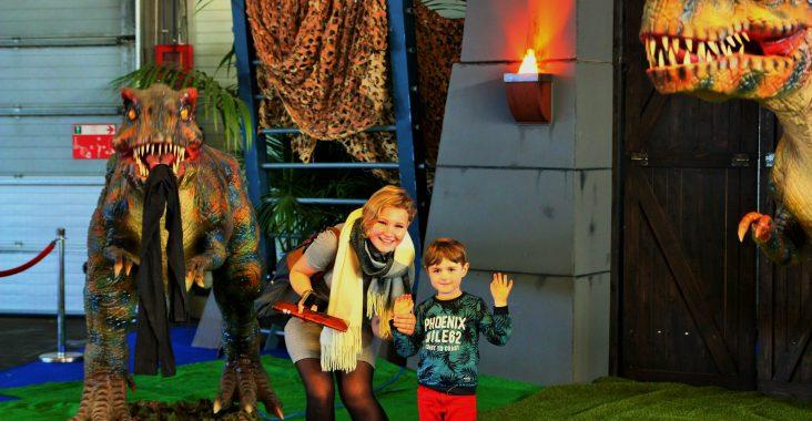 Comic Con dinosaurussen
