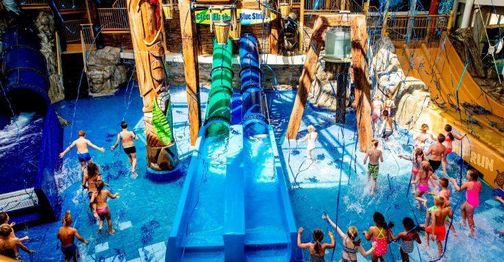 Playa tikibad voor kinderen origineel uitstapje waterpark nederland
