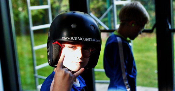Ice Mountain Adventure Park Komen indoor skydive kids indoor skydiving school kids pack klaar