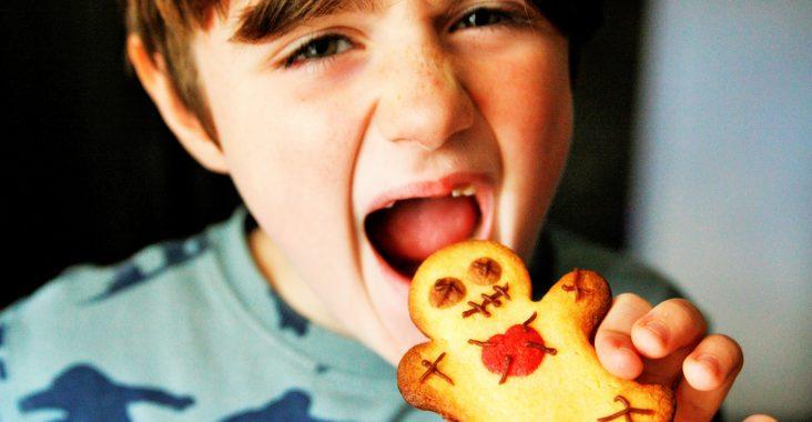 halloweenkoekjes halloweenfood halloweencakes halloweenfilms bekijken griezelige koekjes eten