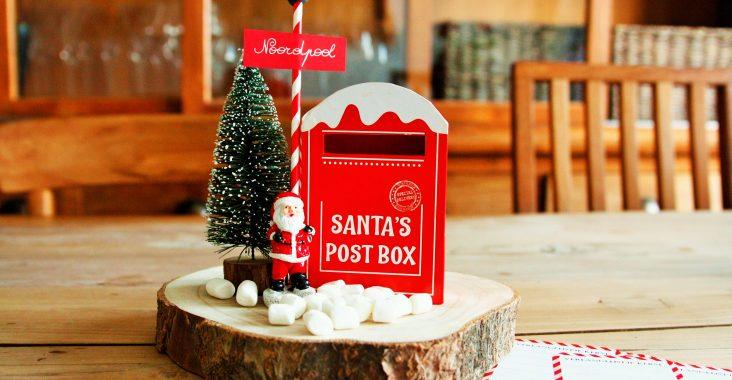 Kerst verlanglijstje christmas wishlist present for christmas mailbox santa lettre to santa