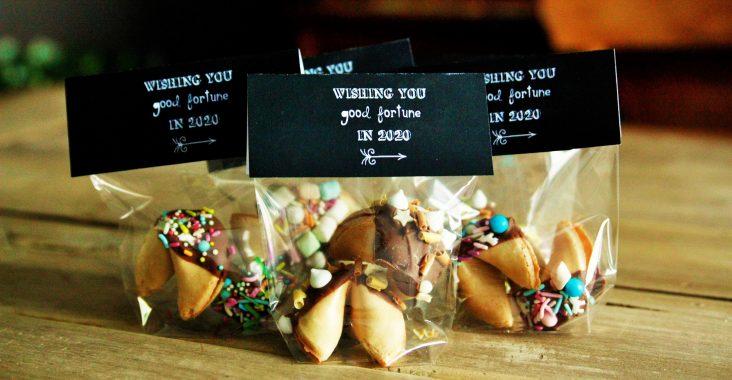 nieuwjaarsfiche jaar 2020 fortune cookies pimpen zakje