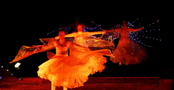 putteke winter de schorre boom winterwandeling vuurfestival lichtfestival dans