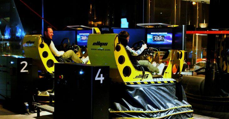 simulator exype waterloo race simulator F1 formule rijden