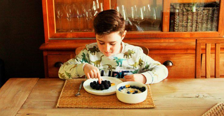 Ontbijtidee origineel ontbijten breakfast ideas breakfast kids diy kids food eenhoorn ontbijt BREAKFAST