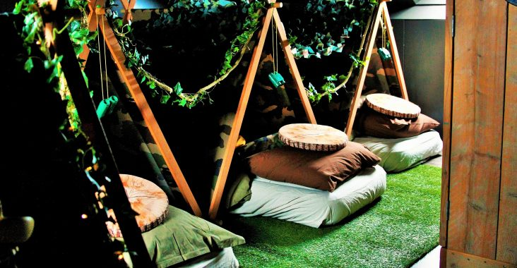 parties and pillows logeerparty sleepover party slaapfeestje kidsparty the army team