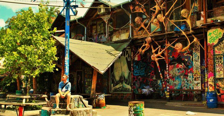slovenie slovenia roadtrip reizen ljublijana metelkova art center street art graffiti