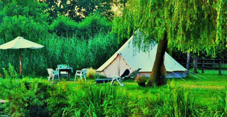 glamping josephine geel paardenfokkerij visit geel belltent Bell tent kamperen weg met kinderen origineel overnachten (13)