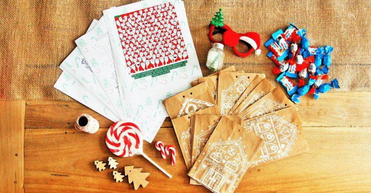 kerstaftelkalender aftellen naar kerst christmas aftelkalender kerstchocolade kerstsnoep kerstman (2)