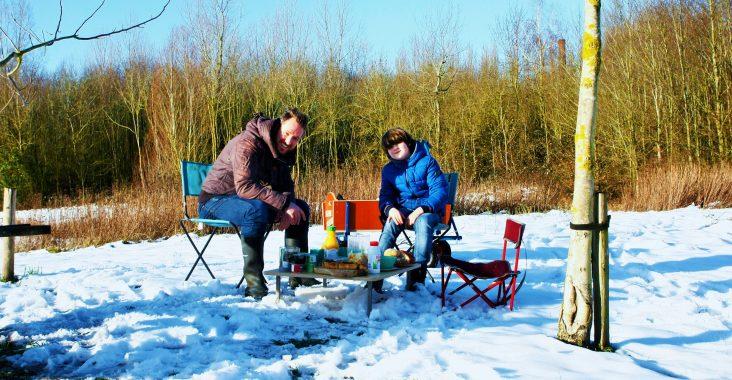 picknick met bolderkar cafe de living lauwe moeskroen origineel picknicken winterpicknick wegmetkids wattedoen uitstapjes met kinderen (2)