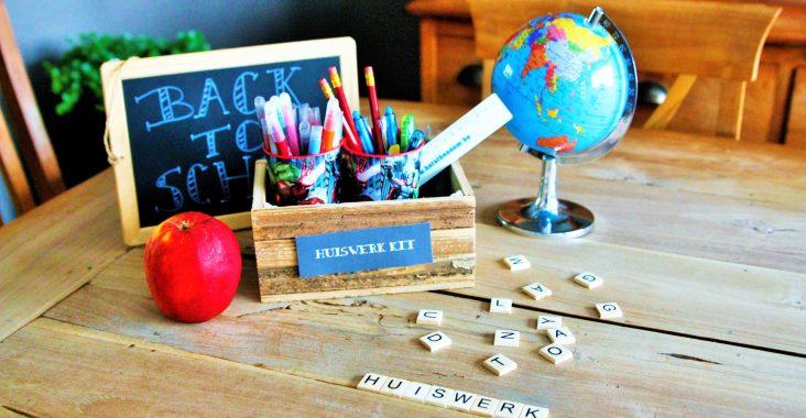 back to school huiswerkkit huiswerkhulp terug naar school huiswerk kinderfeestjes kids party